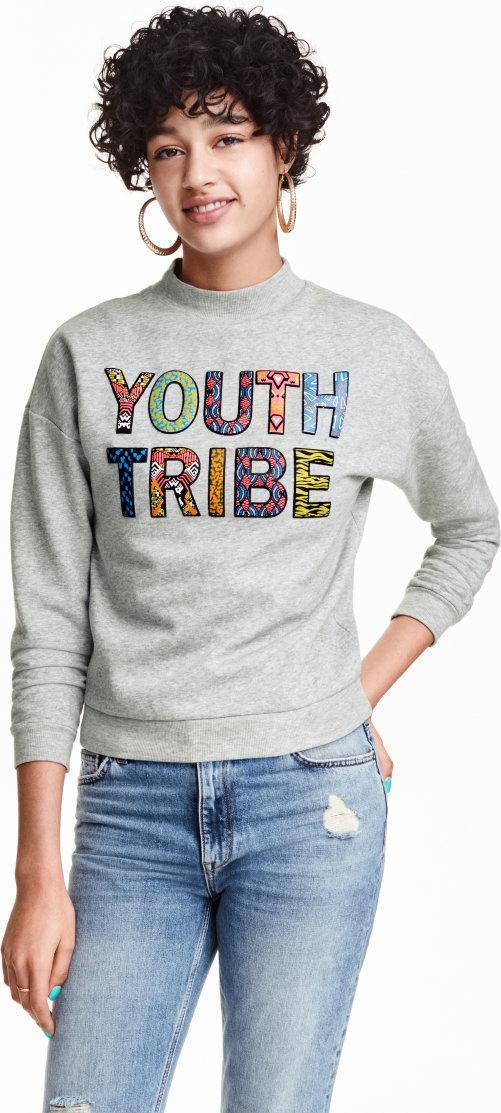 Отзыв на С принтом свитер из Интернет-Магазина H&M