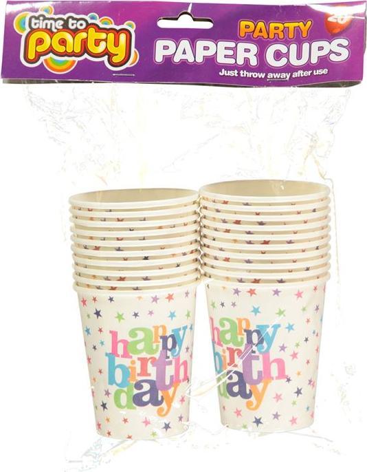 Отзыв на Mega Value Birthday Cups из Интернет-Магазина Sports Direct