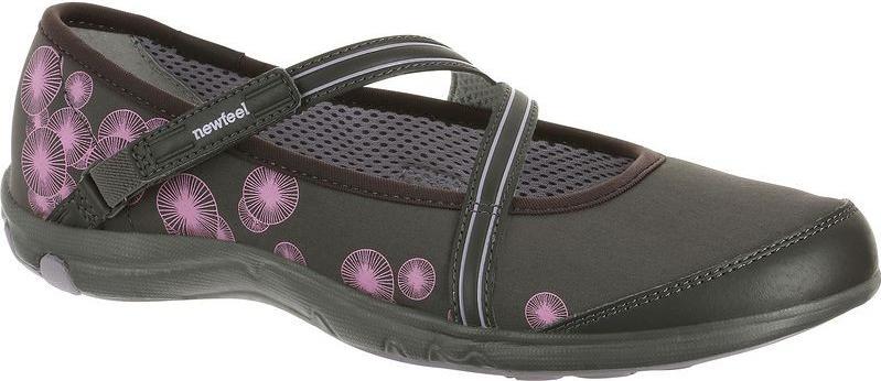 Отзыв на Балетки летние гибкий Baoma для женщин серый/розовый NEWFEEL из Интернет-Магазина Decathlon