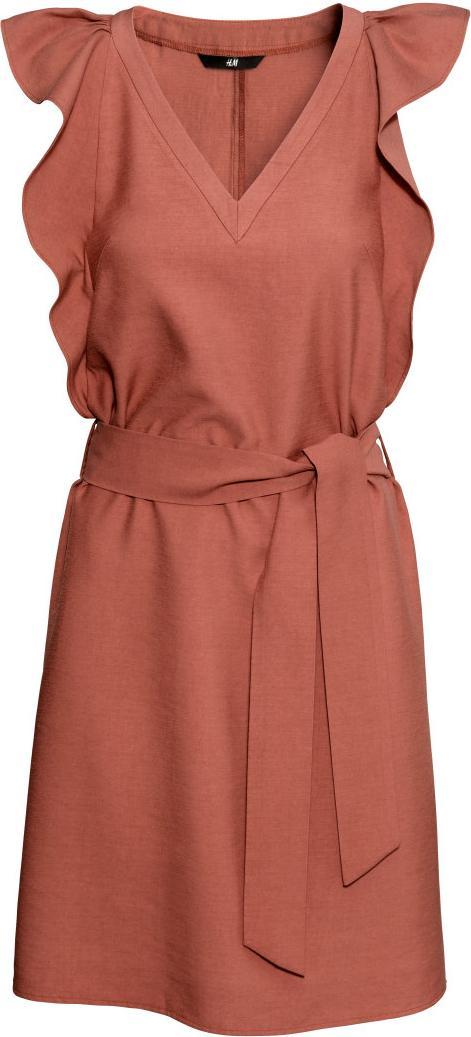 Отзыв на Платье с широкими рукавами из Интернет-Магазина H&M