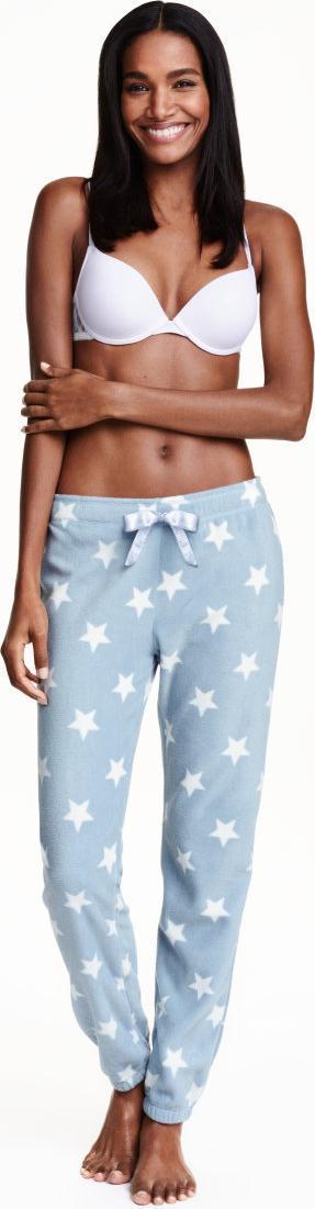 Отзыв на Штаны пижамные с флис из Интернет-Магазина H&M