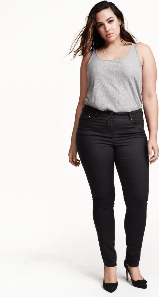 Отзыв на H&M+ Супер стрейчевые брюки из Интернет-Магазина H&M
