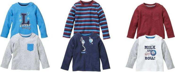 Отзыв на LUPILU® 2 детские для мальчика Длинный рукав рубашки из Интернет-Магазина LIDL