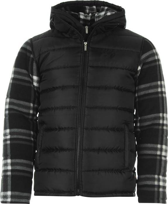 Отзыв на Lee Cooper Поли куртка мужская с флисовыми рукавами из Интернет-Магазина Sports Direct