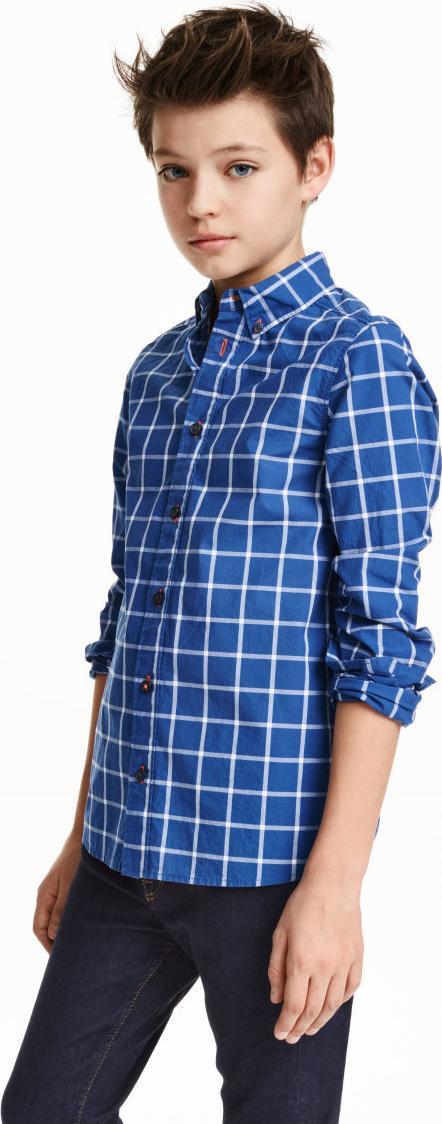 Отзыв на Цветная хлопковая рубашка из Интернет-Магазина H&M