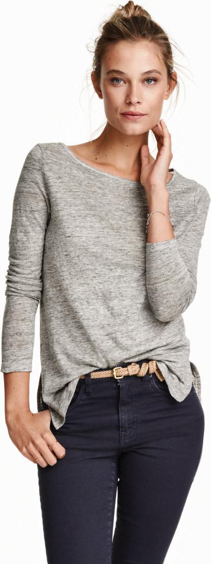 Отзыв на Рубашка с Полотно-Джерси из Интернет-Магазина H&M