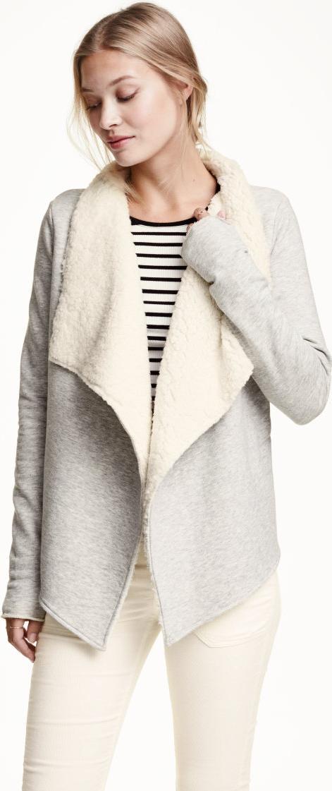 Отзыв на Вырез на меховой подкладке из Интернет-Магазина H&M