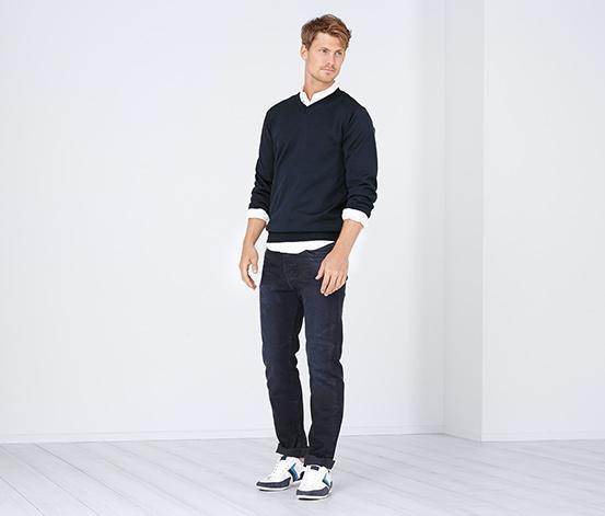 Отзыв на Мелко вязать свитер, голубой из Интернет-Магазина Tchibo