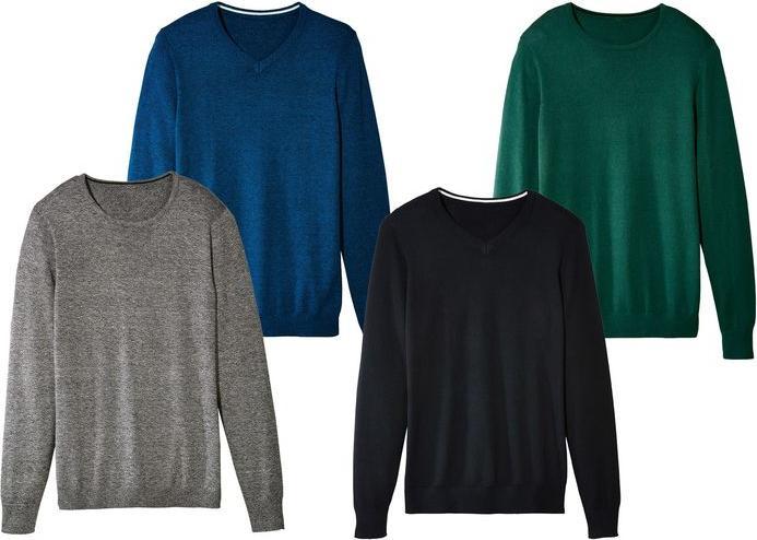 Отзыв на LIVERGY® для мужчин свитер тонкой вязки из Интернет-Магазина LIDL