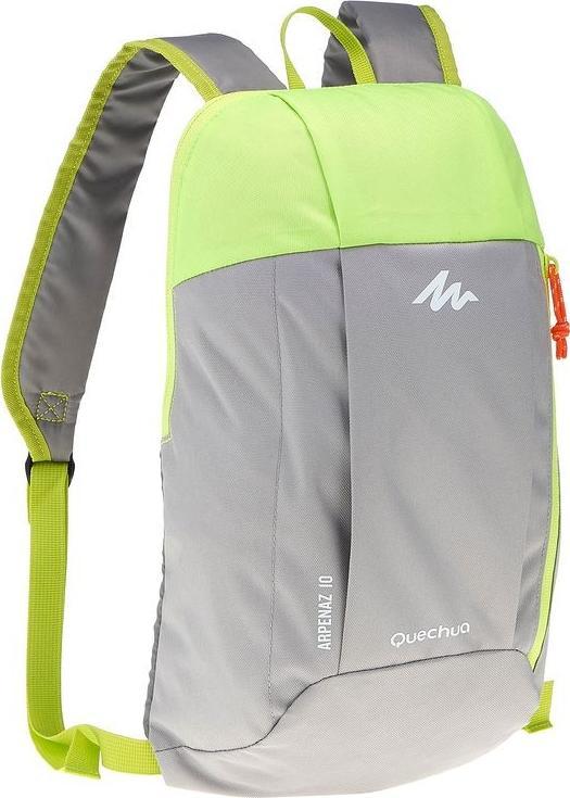 Отзыв на РЮКЗАК ARPENAZ 10L серый/зеленый QUECHUA из Интернет-Магазина Decathlon
