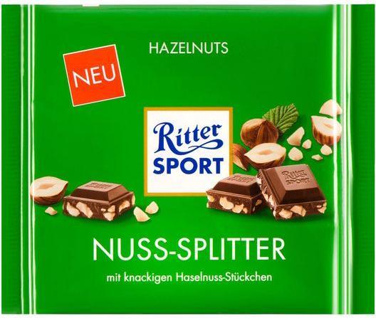 Отзыв на Ritter Sport Шоколад Гайка Сплиттер из Интернет-Магазина LIDL