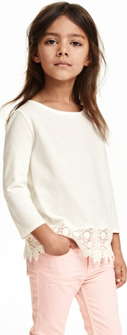 Отзыв на Рубашка с кружевом из Интернет-Магазина H&M