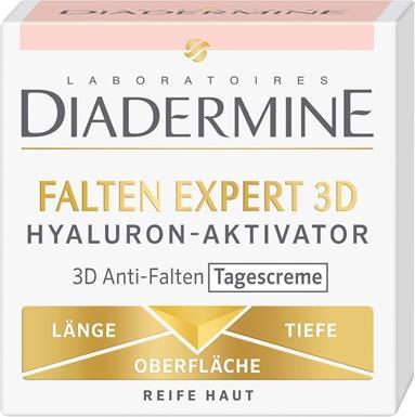 Отзыв на Diadermine В складку Эксперт 3D Гиалуроновая Кислота-Активатор Против Морщин Дневной из Интернет-Магазина ROSSMANN