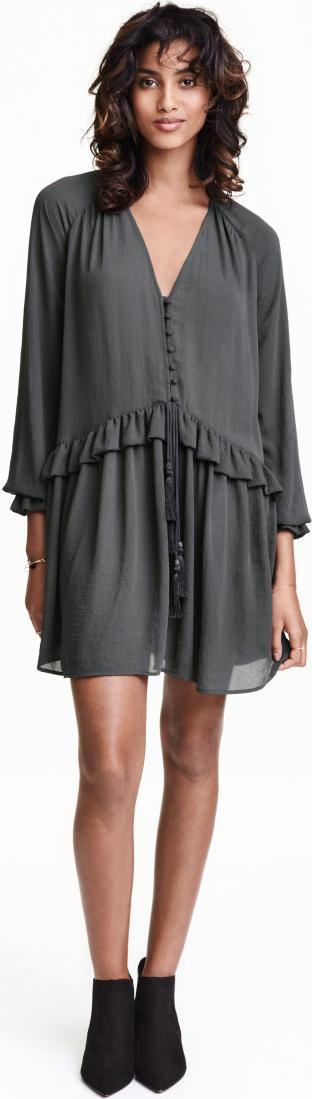 Отзыв на Платье с Креп ткань из Интернет-Магазина H&M