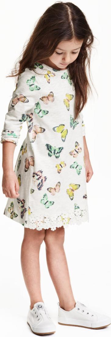 Отзыв на Платье трикотажное с Верхняя кромка из Интернет-Магазина H&M