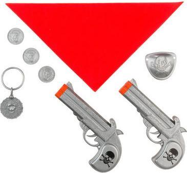 Отзыв на Костюм Комплект - Набор Пират, 2 Пистолеты 8-tlg. из Интернет-Магазина Kik.de