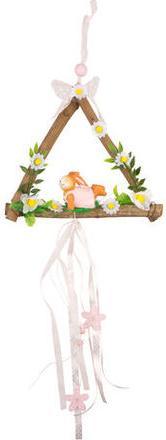 Отзыв на Подвесные украшения - Деревянный треугольник, Заяц, лежа ок. 60 x из Интернет-Магазина Kik.de