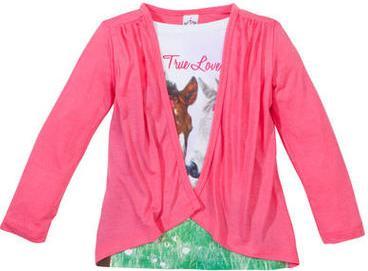 """Отзыв на 2-в-1 - кофта с длинным руковом Лошадей, """"True Love"""" из Интернет-Магазина Kik.de"""
