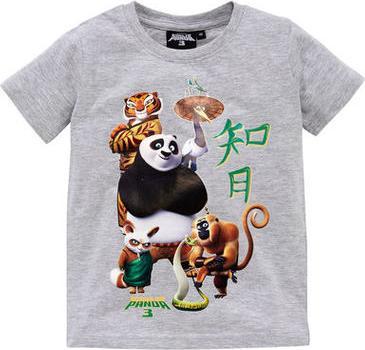 Отзыв на Кунг Фу панда 3 - Футболка Po, Которые Яростный Пять из Интернет-Магазина Kik.de