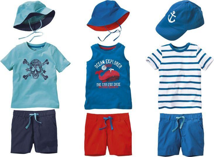 Отзыв на LUPILU® для мальчика малыша летний костюм 3 шт из Интернет-Магазина LIDL