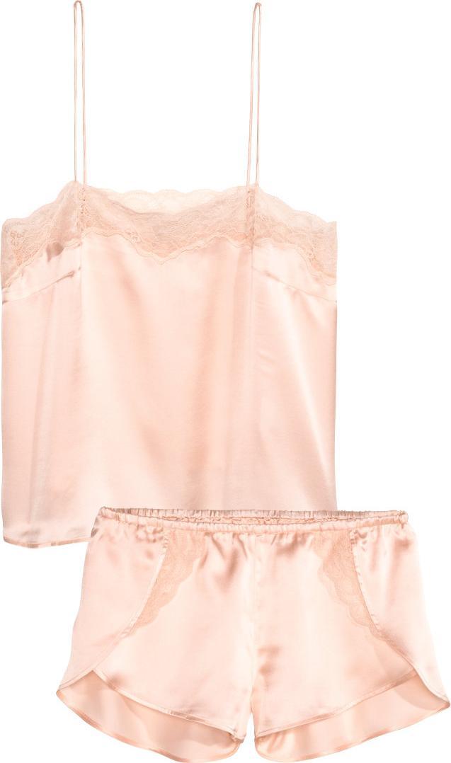 Отзыв на Пижама с Шелк из Интернет-Магазина H&M