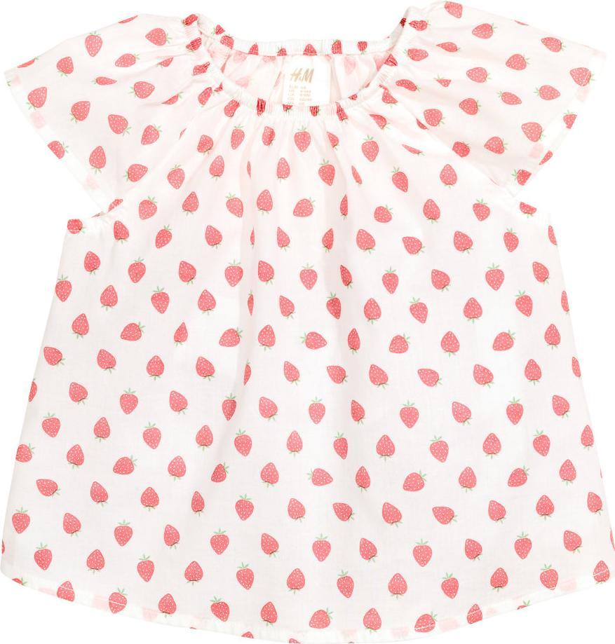 Отзыв на Цветная хлопковая блузка из Интернет-Магазина H&M