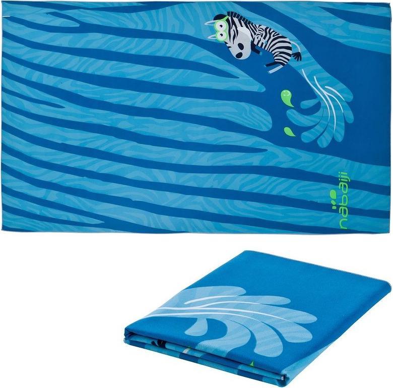Отзыв на Микрофибра Полотенце Zebro L 80x130 x голубой NABAIJI из Интернет-Магазина Decathlon