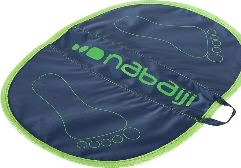 Отзыв на Fußmatte Hygiene Feet grau/grün NABAIJI из Интернет-Магазина Decathlon