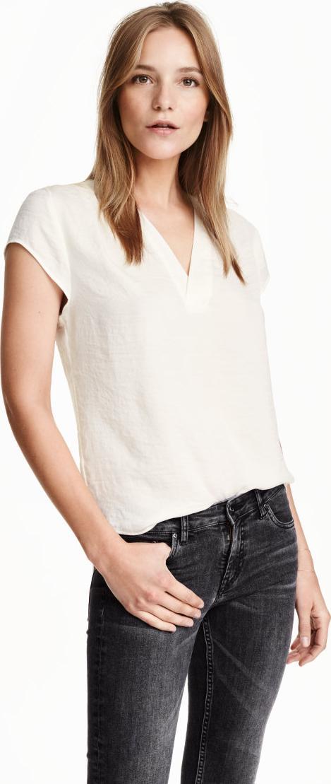 Отзыв на Блузка с V-образным вырезом из Интернет-Магазина H&M