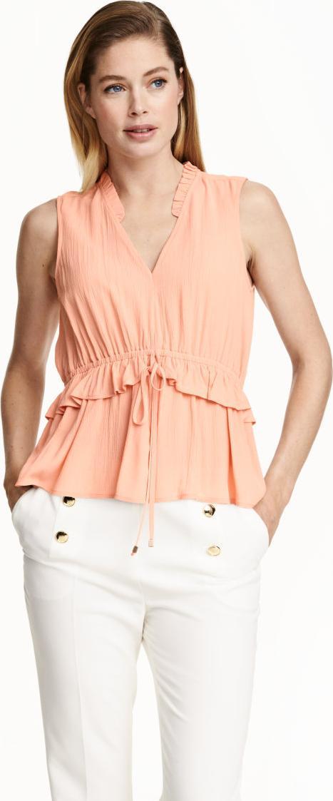 Отзыв на Gecrinkelte Блузка из Интернет-Магазина H&M