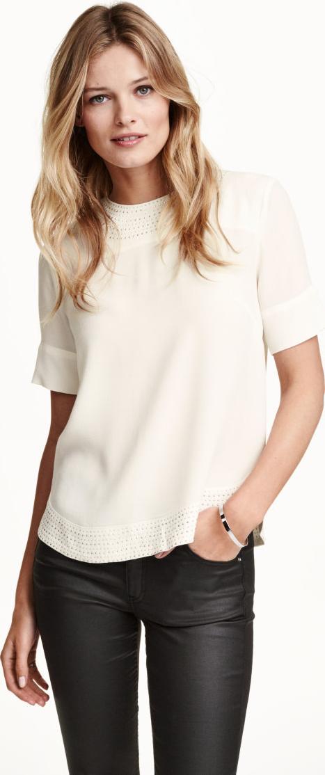 Отзыв на Блузка с заклепками из Интернет-Магазина H&M