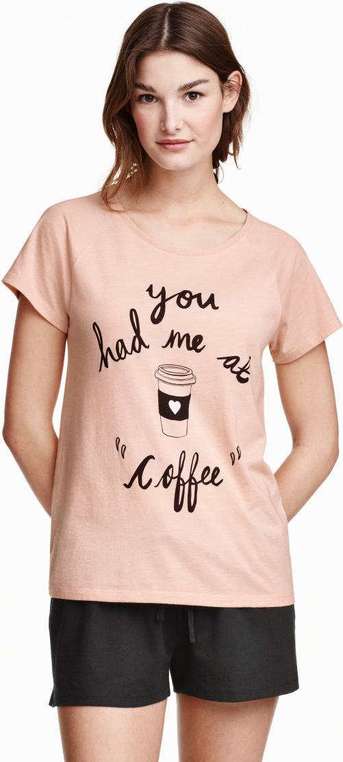 Отзыв на Пижама с Рубашка Нормальная Шорты из Интернет-Магазина H&M