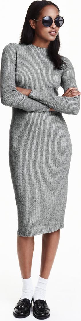 Отзыв на Geripptes платье трикотажное из Интернет-Магазина H&M