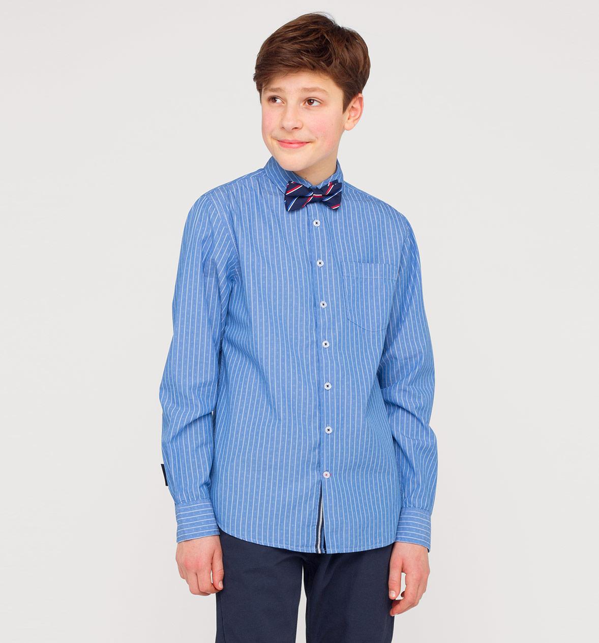 Отзыв на С длинными рукавами Хлопковые Рубашки с Галстук-бабочка из Интернет-Магазина C&A