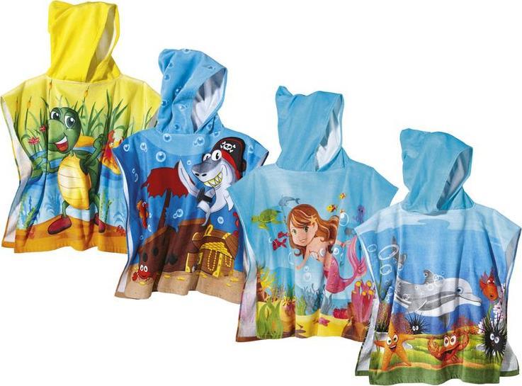 Отзыв на CRIVIT® для детей Пляжные пончо из Интернет-Магазина LIDL