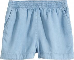 Отзыв на Джинсовые шорты с лиоцелла из Интернет-Магазина H&M