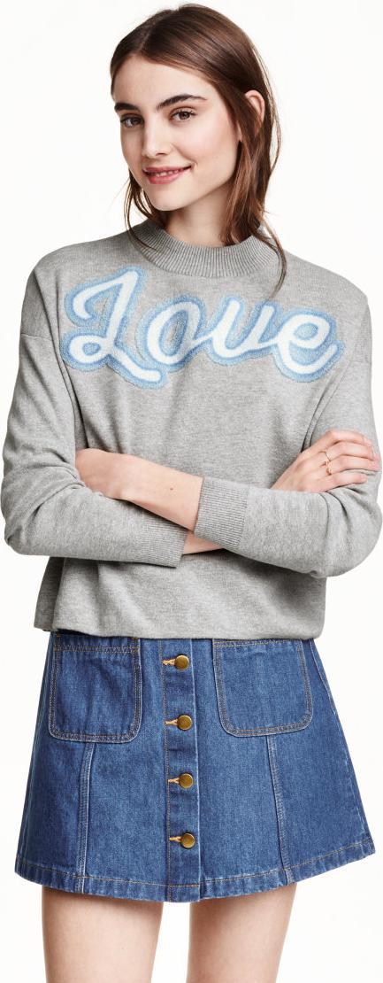 Отзыв на Свитер с тонкой вязкой из Интернет-Магазина H&M