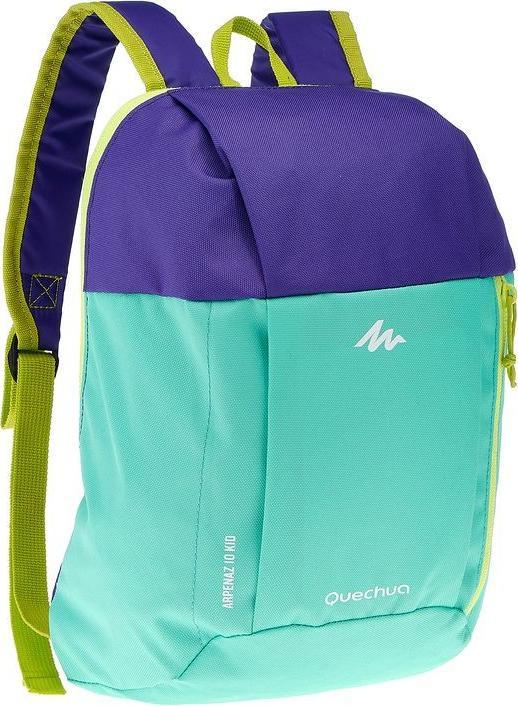 Отзыв на РЮКЗАК ARPENAZ для детей зеленый/фиолетовый QUECHUA из Интернет-Магазина Decathlon