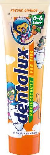 Отзыв на DENTALUX® детская зубная паста свежий апельсин из Интернет-Магазина LIDL