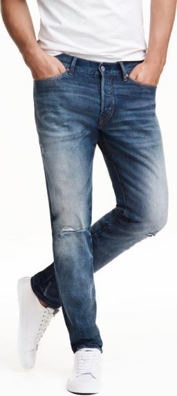 Отзыв на Slim заниженные рваные джинсы из Интернет-Магазина H&M