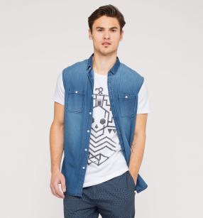 Отзыв на Джинсовая рубашка с Футболка из Интернет-Магазина C&A