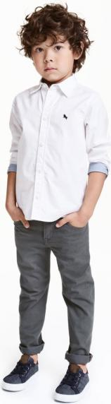 Отзыв на Брюки из твила нормальные Fit из Интернет-Магазина H&M