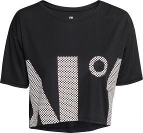 Отзыв на Kurzes Sportshirt из Интернет-Магазина H&M
