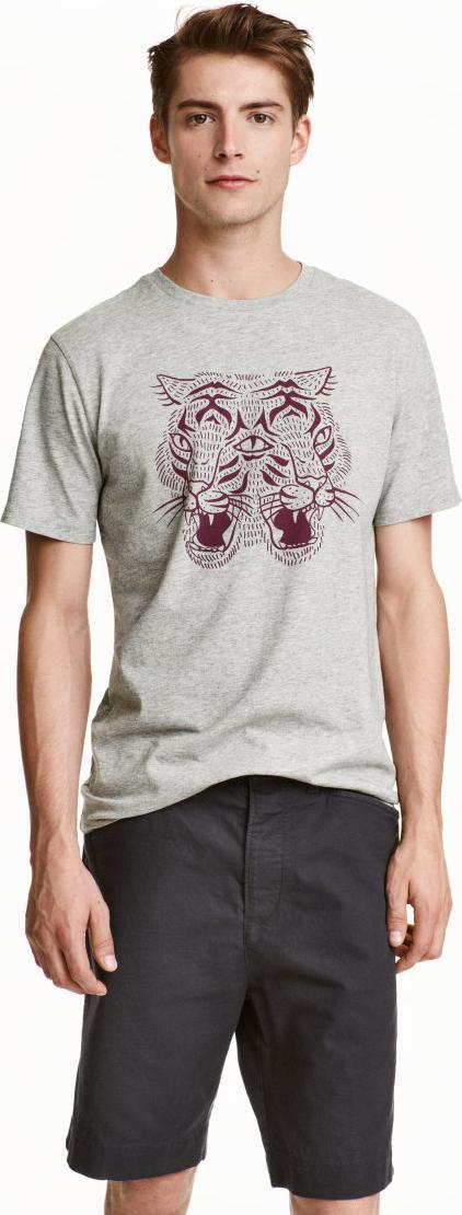 Отзыв на Футболка с принтом (футболки и майки) из H&M ... - photo#37