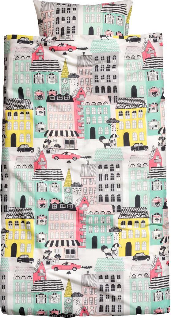 Отзыв на Цветные Постельное белье из Интернет-Магазина H&M