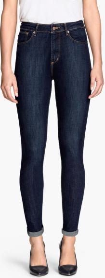 Отзыв на Узкие джинсы с высокой талией из Интернет-Магазина H&M