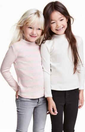 Отзыв на 2 пары футболок с из Интернет-Магазина H&M