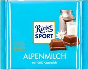 Отзыв на Ritter Sport Шоколад Альпийского молока из Интернет-Магазина LIDL