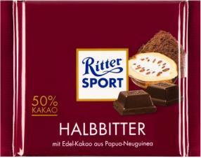 Отзыв на Ritter Sport Шоколад Горький из Интернет-Магазина LIDL