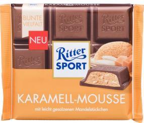 Отзыв на Ritter Sport Шоколад Karamell-Мусс из Интернет-Магазина LIDL